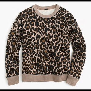 Jcrew XXS leopard print sweater